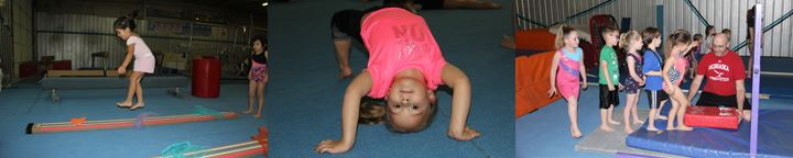 Kids doing gymnastics 1