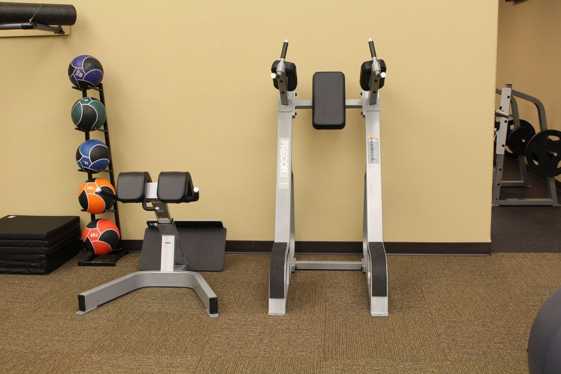 Equipment in the corner at Core Fitness (JPG)